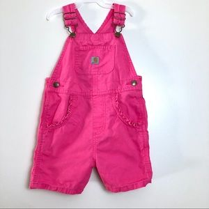Carhartt 100% cotton Pink Jumper size  3T